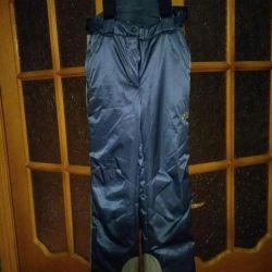Sports warm trousers