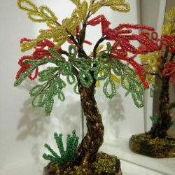 Mini arbore de margele.