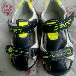 Sandals on the boy p.23