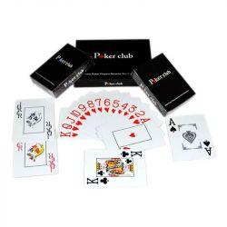 Cărți premium de plastic Poker Club - 100 de plastic