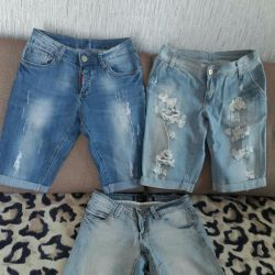 Pantaloni scurți denim
