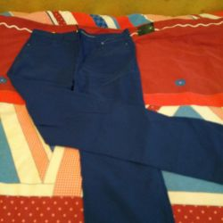 Pantolon germek Mavi renk. Yessica, 48-50.