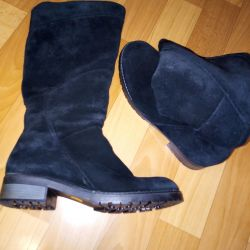 Natural winter boots