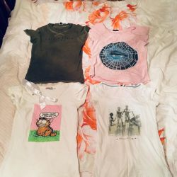 T-shirt package. Xs-s