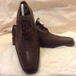 мужские туфли брогги 41 размер