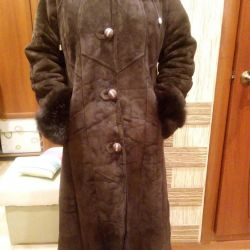 New sheepskin coat