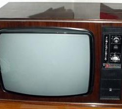 The export of Soviet televisions