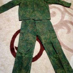 Camouflage and suit