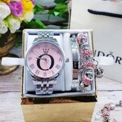 Γυναικείο ρολόι με βραχιόλια PANDORA