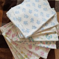 Baby diapers, 10 pcs, thin, price for all