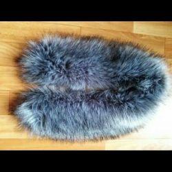 Collar artificial fur