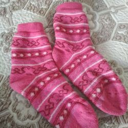 Kızlar için Terry çorap