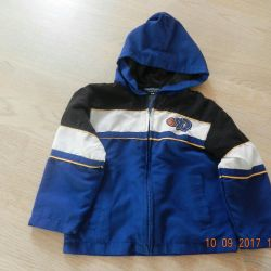Jachetă pentru copii jachetă albastră