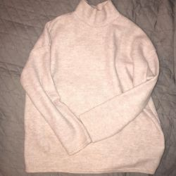 New pink sweater