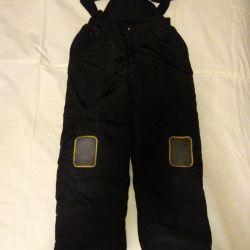 Bib overalls. Winter pants.