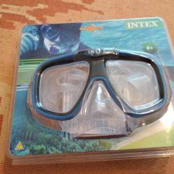 μάσκα snorkeling intex