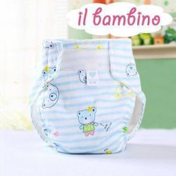 Reusable diapers. Pampers for swimming
