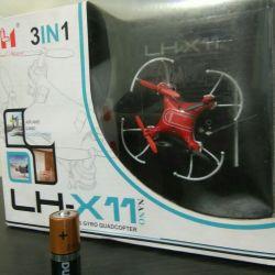 Quadcopter on the radio