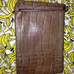 Leather bag massimo dutti