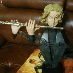 statuete μουσικός