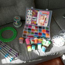A set of rezinochek for creativity
