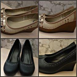 Πλατφόρμες παπουτσιών σφηνών (μέγεθος 40)