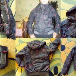 Membrane ski jacket