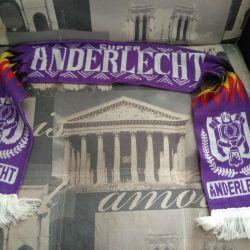 Scarf of the Belgian football club Anderlecht