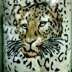 Fuzzy Plaids! Hearts, Leopard, Panda