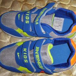 New Indigo Sneakers 35 rr