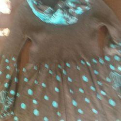 Φόρεμα με κασκόλ όμορφη