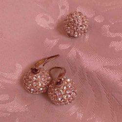 Set (earrings + pendant)