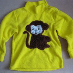 1,5 - 2 yaş çocuk için bluz