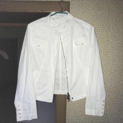 Yeni yaz beyaz ceket