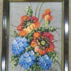 Custom oil painting 15x20cm with frame