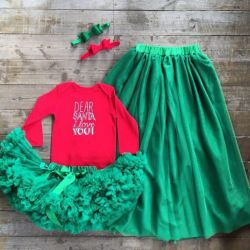 Children's things, set of skirts mother + daughter