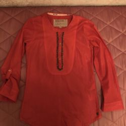 Kızlar için bluz yüksekliği 152-158cm