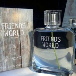 Mens Friends World For Him Eau de Toilette