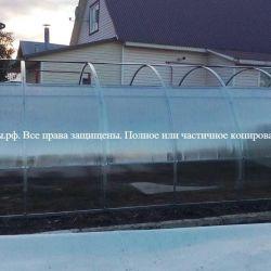 Теплица сдвижная 3х6, арт №3х6ск