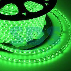 Ταινία 220V 14,4 W / m 5050-60-100M IP68 πράσινο