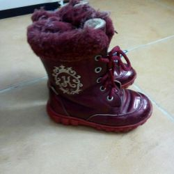 Leather boots Kotofey