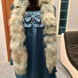 DeSalito dress with a vest