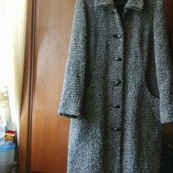 Пальто     шерсть 85%   Германия.   RENE     44-46