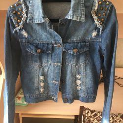 Used jeans jacket