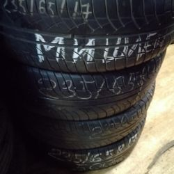 set of tires 235 / 65na17