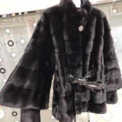 Mink fur coat. New. Beijing