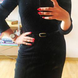 Modă rochie-tăiței-tricotaje + lână
