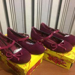 Zarif bale ayakkabıları