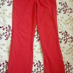 Γυναικεία παντελόνια, υφασμάτινο αδιάβροχο 44 μέγεθος