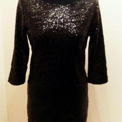 Вечернее платье в поедках